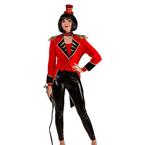 PARTY DISCOUNT® Damen-Kostüm Zirkusdirektorin Frack, Gr. 38-40