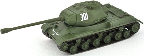 Eaglemoss Militär Panzermodell Russischer Panzer Kampfpanzer 2. Weltkrieg JS 2 1:72 ca. 9 cm Metall -