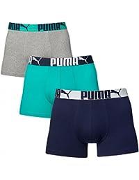 Puma Men's Cat Boxers (Pack Of 3)