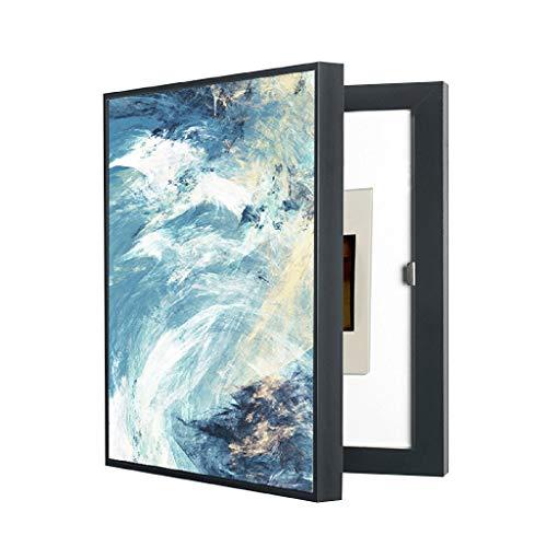 LITING Cuadro de medidor eléctrico Pintura Decorativa Punzonado Libre Caja de decoración...