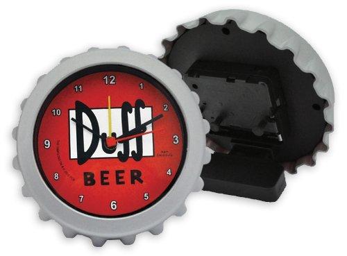 Reloj despertador The Simpsons - Duff Beer/ Tapa de la cerveza