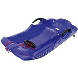 AlpenGaudi, Luge en plastique AlpenSpider Rot avec freins en plastique, Bleu