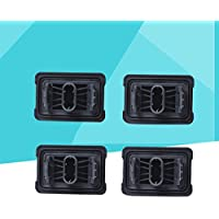FENICAL 4 Piezas de Repuesto Jack Pads Debajo del Soporte del Coche Protectores Protectores para BMW E81/E82/E90/F10/F02 (Negro)