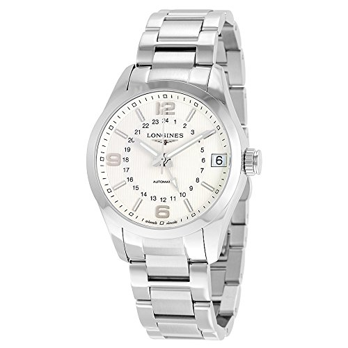 Longines Conquest Classic Silver Dial GMT Automatic Mens Watch L27994766