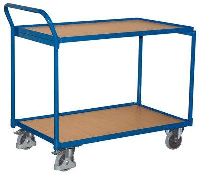VARIOfit Tischwagen mit 2 Ebenen