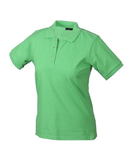 Polo di alta qualità con polsini Classic Polo Ladies Uni sport polo manica corta in diversi colori Taglia S à 2XL lime-green