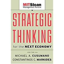 [(Strategic Thinking for the Next Economy )] [Author: Michael A. Cusumano] [May-2001]