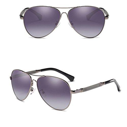 DFGHGXCNBX Polarisierte Sonnenbrille-Sonnenbrille-Sonnenbrille der Männer u. Frauen-treibende Gläser-Fischen-Gläser, 011