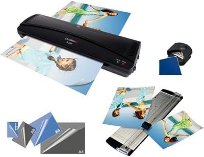 Olympia - Set de cortador de papel y folios de varios tamaños
