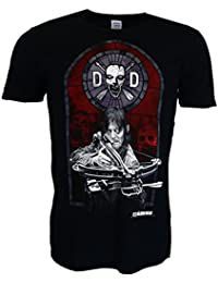 The Walking Dead Stained Glass Camiseta negro Oficial Con licencia TV