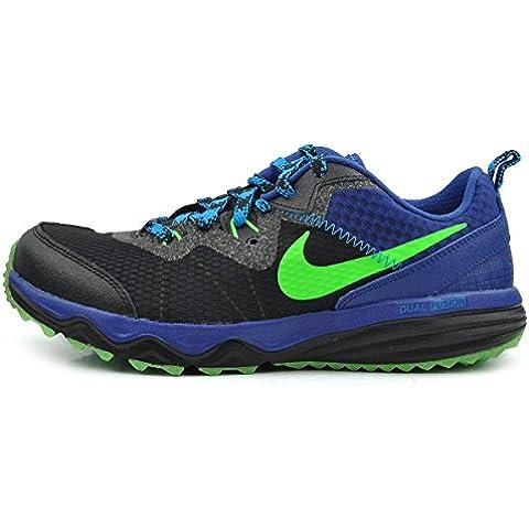 Nike - Dual Fusion Trail (Gs), Scarpe da corsa Bambino