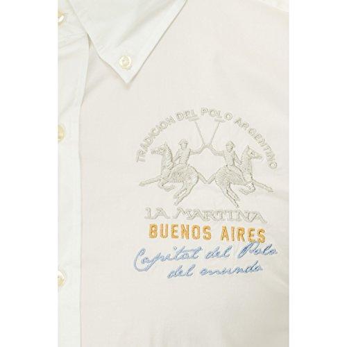 La Martina ® Hemd Polo Team Weiß - weiß