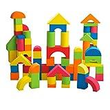 Baoblaze 70- teilig Kinder Schaumstoffe Bauklötze Bausteine aus EVA Lernspielzeug