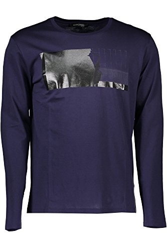 GUESS MARCIANO 71H6196399Z T-Shirt mit langen Ärmeln Harren blau B489