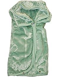 Baby Sac vert 80x90cm extra doux