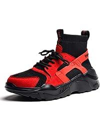 Deportes Y Ocio De Alta Top Zapatos Calle Moda Hombres Zapatos Salvajes Hip-Hop  Personalidad c89ff7b7154