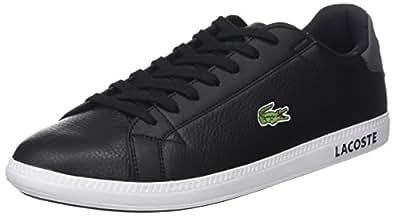 f17f90905ec5d6 Lacoste Men s Graduate Lcr3 118 1 SPM Trainers  Amazon.co.uk  Shoes ...