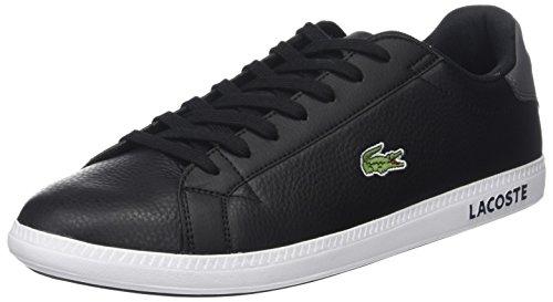Lacoste Herren Graduate Lcr3 118 1 SPM Sneaker, Schwarz (Blk/dk Gry), 43 EU