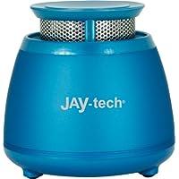 JAY-tech GP503 Mini-enceinte avec basses sans fil bluetooth bleu