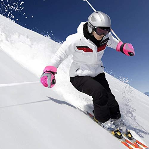 Lorenlli Guantes de esquí de Nieve para Mujer