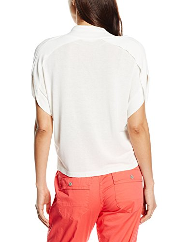 Sandwich Damen Kurzarm Shirt Weiß (Pure White)