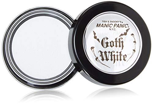 Manic Panic Goth Cream/Powder Foundation (Weiß) (Halloween Für Weißes Puder)