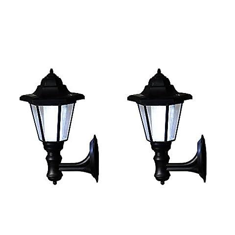 Sundautumn Lot de 2 PCS Luminaire Applique Exterieur LED Mural