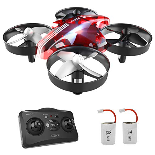 ATOYX Mini Drone, AT-66 RC Drone Niños 3D Flips