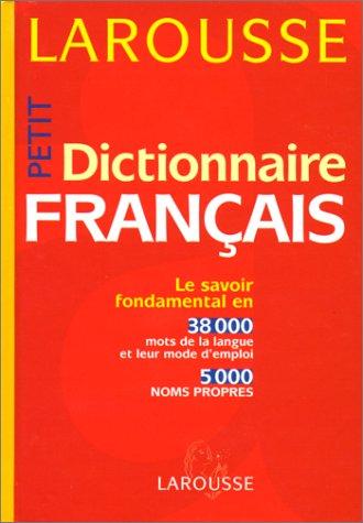Petit Dictionnaire français