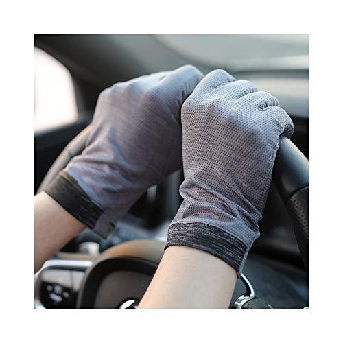 888asdgfadfga Atmungsaktiv Bezieht Sich auf das Fahren mit dem rutschfesten, elastischen Touchscreen for Herren. Kurzer, UV-beständiger Dünnschnitt Mode Persönlichkeit Handschuhe (Beständig Non-slip-fünf)