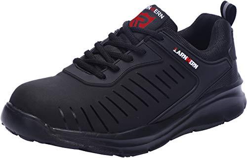 LARNMERN Zapatos Seguridad Hombre Puntera