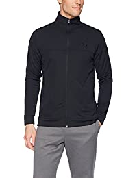 Under Armour Sportstyle Pique Jacket Sudadera, Hombre, Negro, L