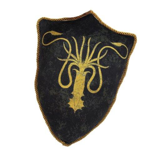 Game Of Thrones Greyjoy Sigil Shield Throw Cuscino