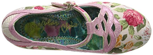 Irregular ChoiceNicely Done - Scarpe con Tacco donna Rosa (Rosa (Pink))