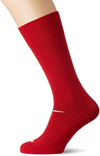 Nike Unisex Classic Dri-Fit- Smlx Fußballsocken Fußballsocken Knee High Classic Football Dri Fit, Rot (Varsity Red/White), M (Leichte Strümpfe Kompression Hohe)