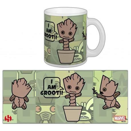 Taza Kawaii Baby Groot-Marvel