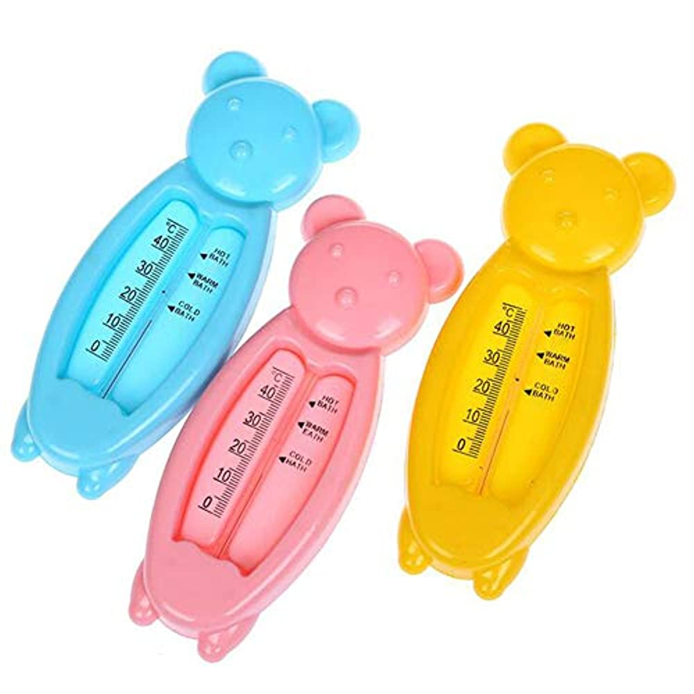 Eizur Badethermometer für sicheres Baden Wasserthermometer Baby Thermometer Kleinkind Dusche Thermometer 3 Stück