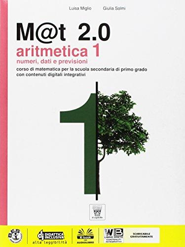 M@t 2.0. Per la Scuola media. Con DVD. Con e-book. Con espansione online: 1