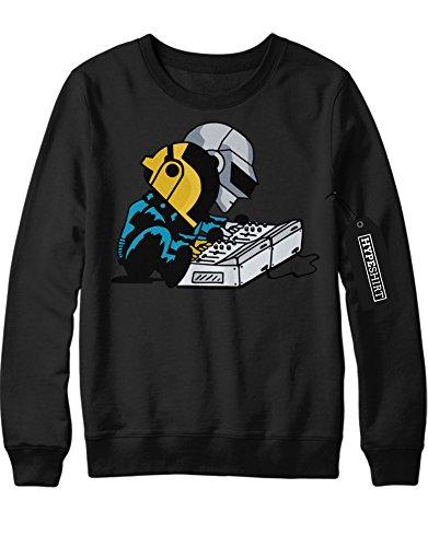 Sweatshirt Daft Punk at Work C112261 Schwarz L (Daft Punk Kostüm)
