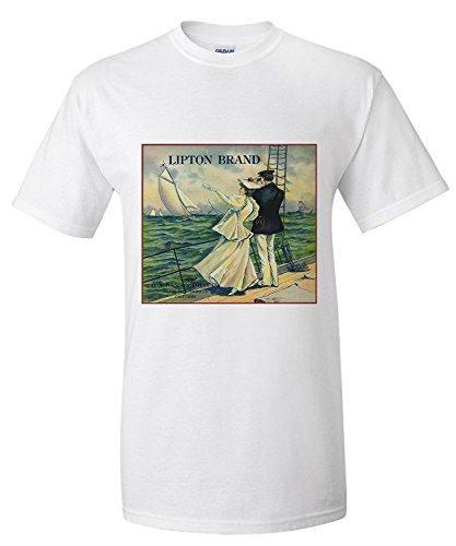 upland-california-lipton-brand-citrus-label-premium-t-shirt