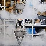 Garciasia Juego de cachimba de triángulo de acrílico árabe para Fumar Shishas Manguera para Pipa de Agua Soporte de carbón Chicha Narguile Accesorios (Color: Color Transparente)