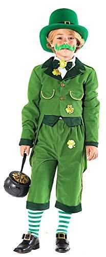 KOSTUumlM Fasching Karneval Irland FOLLETTO fuumlr KARNAVALKOSTUumlME Fancy Dress Halloween Cosplay Veneziano Party 51124 Size 9/L