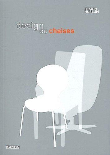 Design de chaises par Design museum, Elisabeth Wilhide