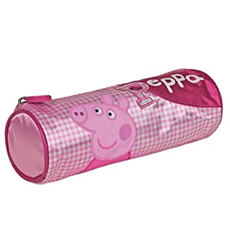 Estuche portatodo corazones Peppa Pig