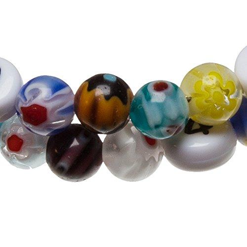 Stillarmband Millefiori - Praktisch für stillende Mütter sowie ein ideales Geschenk zur Geburt! (bunt) - 2