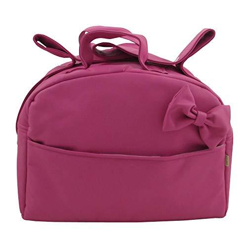 5355cebdb Suley Bolso Polipiel Para Carro Bebe - Color Rosa Fucsia – 4 bolsillos