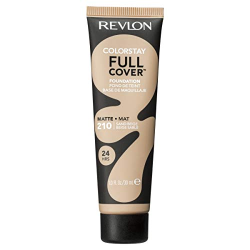 Revlon Colorstay Full Cover Foundation, numero 210, sand beige