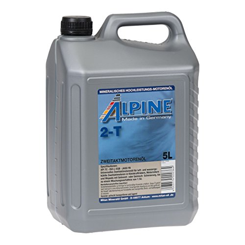 Alpine 2T Zwei-takt-öl mischöl mineralisch 5Liter