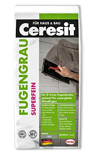 Ceresit CBG12 Superfein Fugengrau 0-5 mm