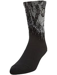 Jordan VIII calcetín Unisex, Negro / Gris